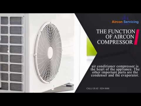 What Is The Function Of Aircon Compressor?