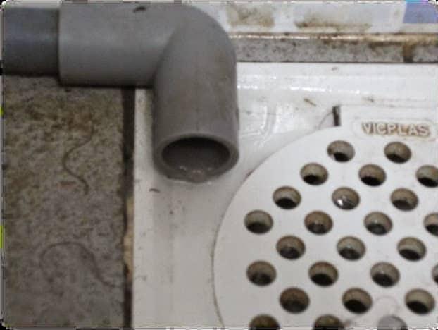 Aircon floor trap