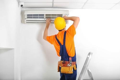 Installing or repairing aircon